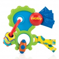 MORDEDERA NUBY WACKEY TEETHER JUGUETE DIFERENTES SUPERFICIES