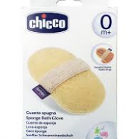ESPONJA PARA BAÑO CHICCO BATH GLOVE BABY MOMENTS